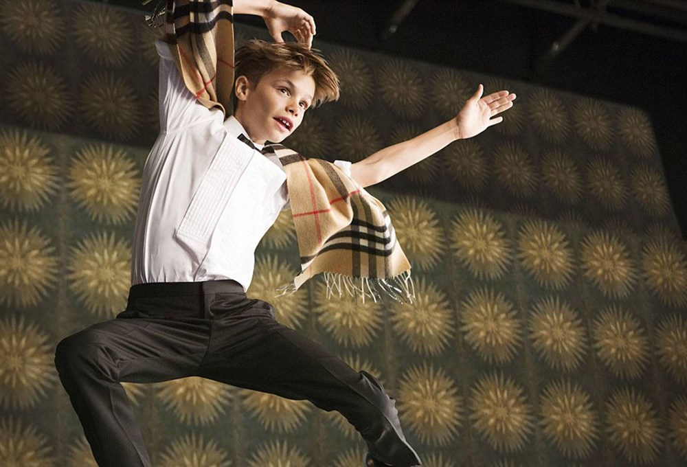 Burberry'den Billy Elliot şerefine!