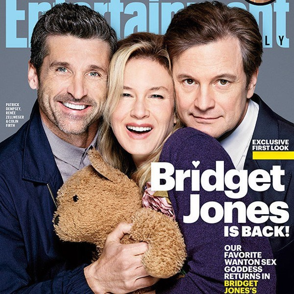 Yeni Bridget Jones'tan ilk kare