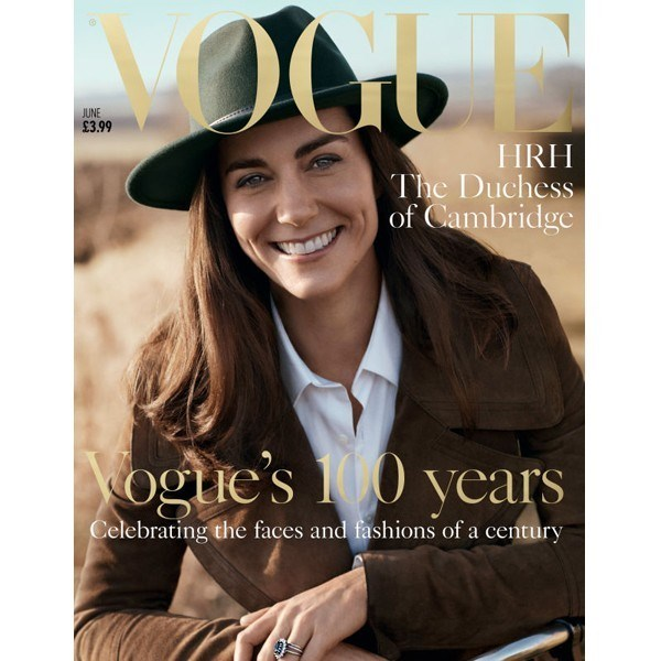 Kate Middleton Vogue kapağında