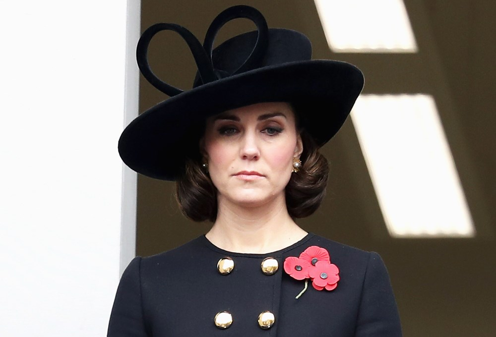 Kate Middleton'dan küt saç denemesi